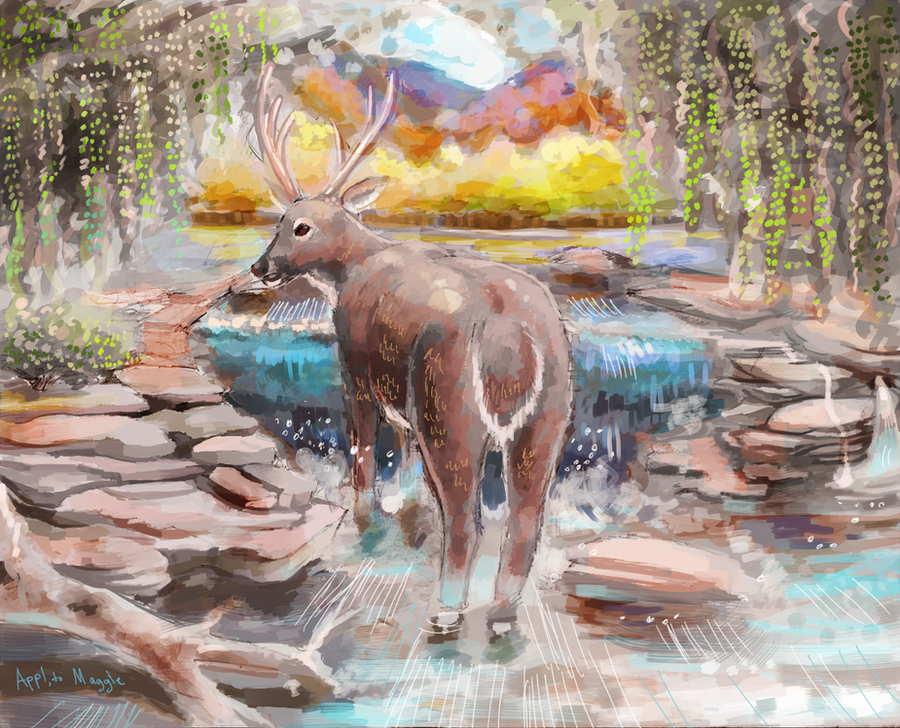 Random Raffle: Deer by ApplejackMan