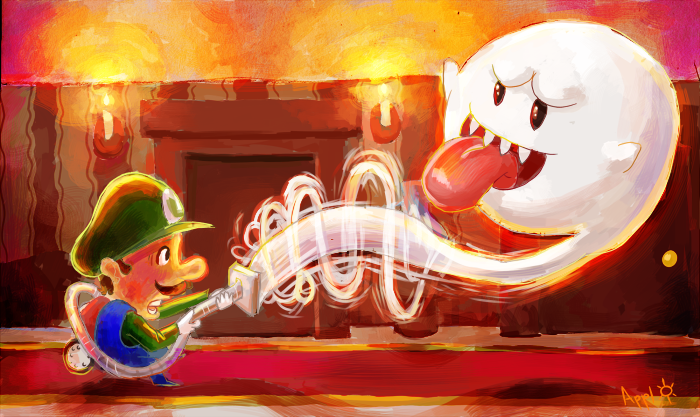 Luigi's Mansion 2 by ApplejackMan