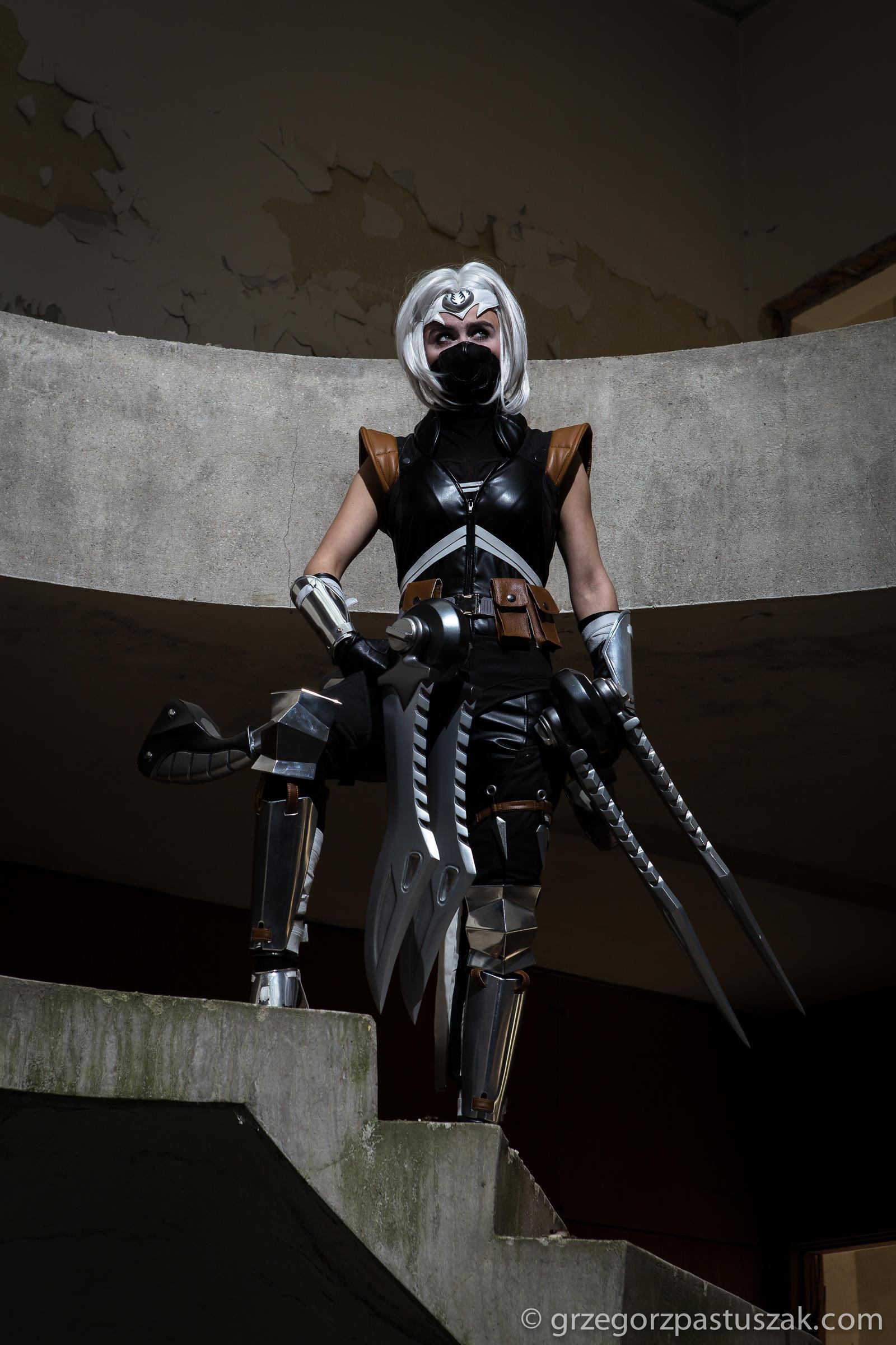 Silverfang Akali cosplay #2 by AyanoGaming on DeviantArt
