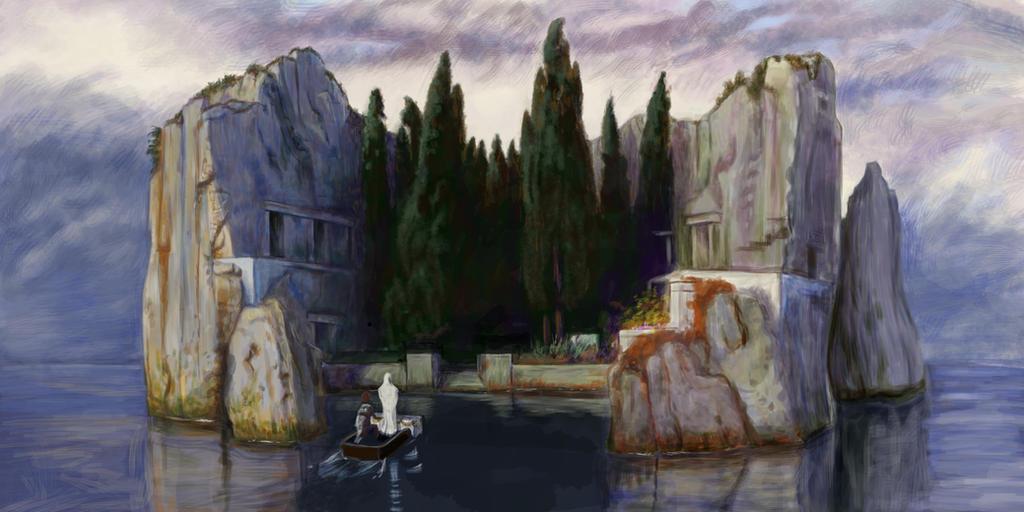 Die Toteninsel - The Isle of the Dead by Feuerlilie