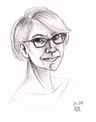 Self-Portrait 2018 by Feuerlilie