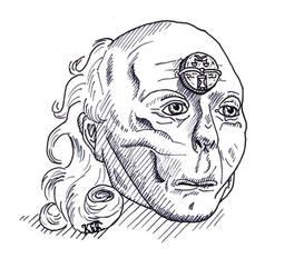 Head of an undead