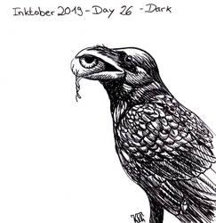 Inktober 2019 - Day 26 - Dark