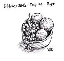 Inktober 2019 - Day 31 - Ripe