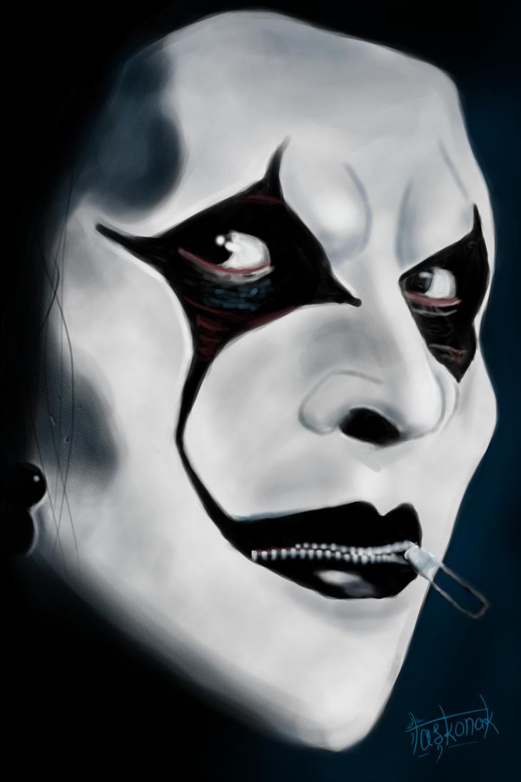 Jim Root of Slipknot by dtaskonak