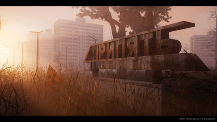 Pripyat 3d-art by shtopor7