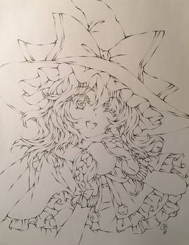 Marisa Kirisame - Snow Ball Making!