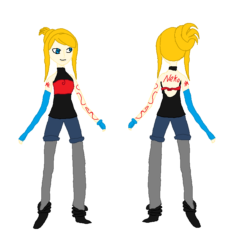 Neko Kashu Possible New Design by Zelda1and2Link