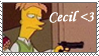 Cecil Stamp by coralinejones1210
