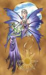 Lavendar Fairy and Dragon