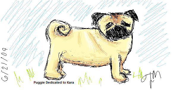 Snuggle Puggle by KKarth