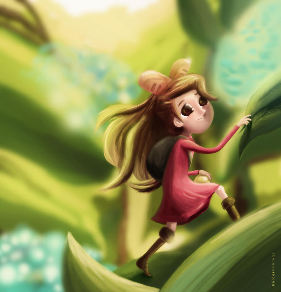 Arrietty Fan Art by debergolas