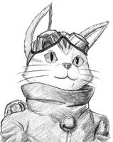 Blinx Portrait by Exoanthrope