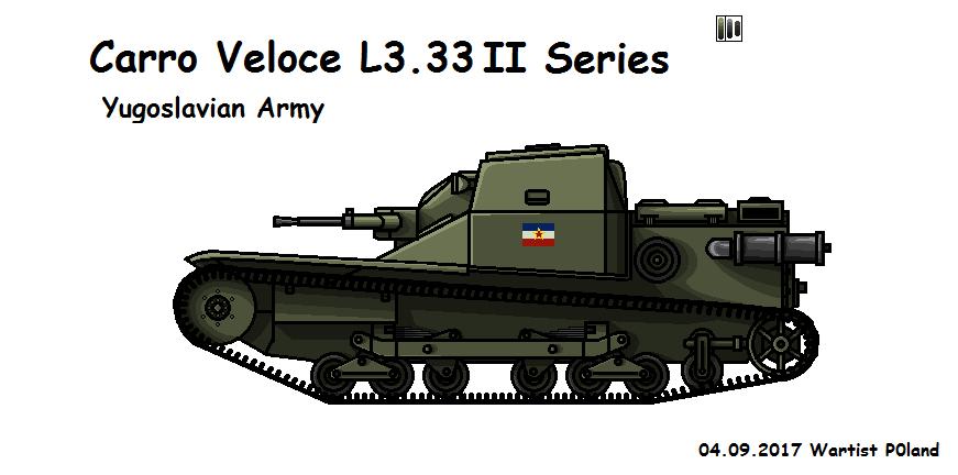 Carro Veloce L3.33 II Series by P0landWW2
