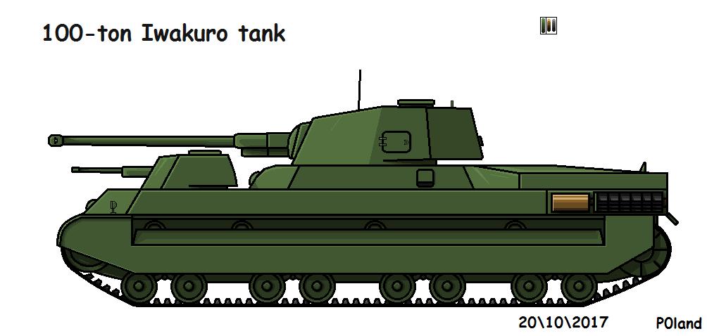100-ton Iwakuro Tank by P0landWW2