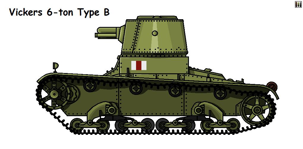 Vickers 6-ton Mark E Type B by P0landWW2