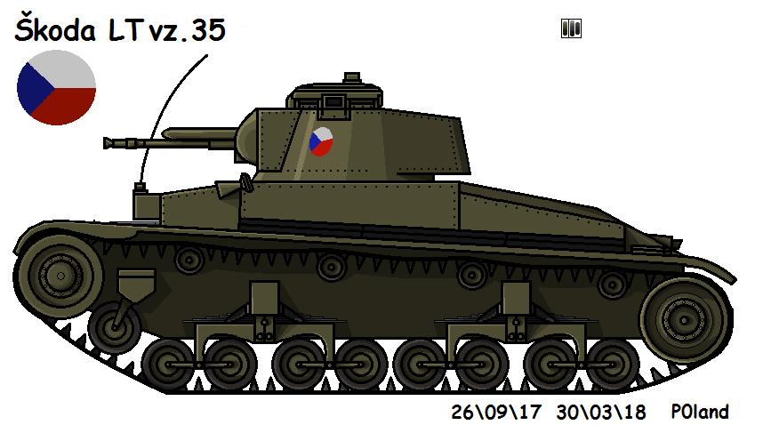 LT vz. 35 by P0landWW2