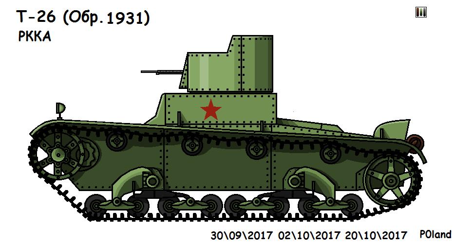 T-26 (mod.1931) by P0landWW2