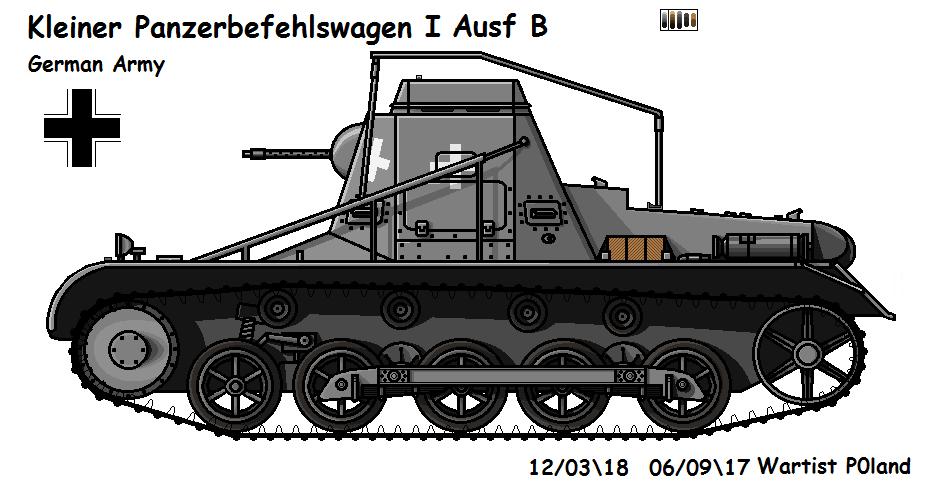 Kleiner Panzerbefehlswagen I Ausf B by P0landWW2