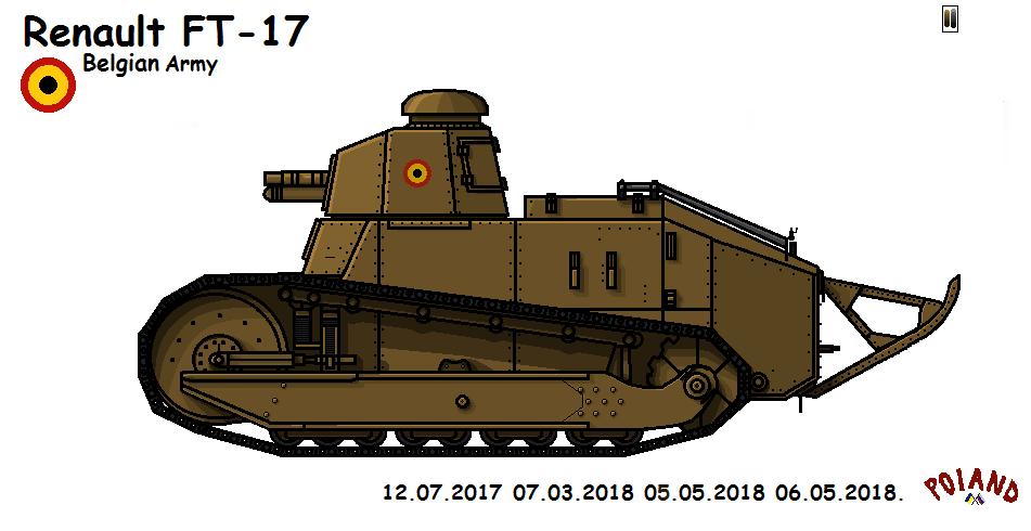 Renault FT-17 Gun by P0landWW2