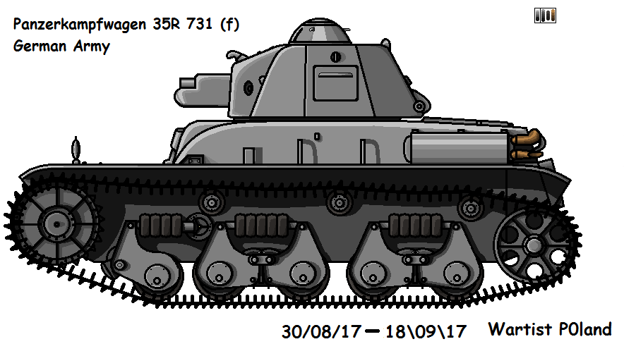 Panzerkampfwagen 35R 731 (f) by P0landWW2