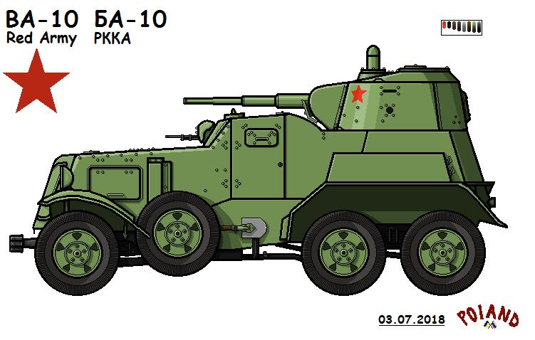 BA-10 by P0landWW2