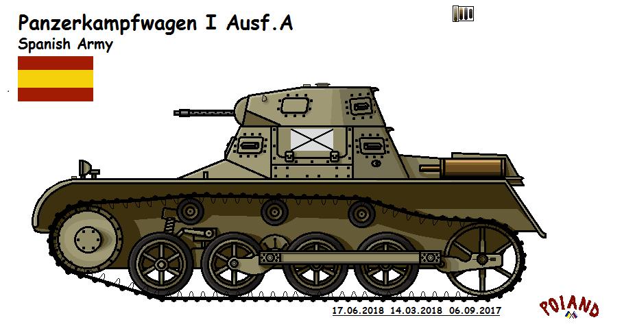 Panzerkampfwagen I Ausf.A by P0landWW2