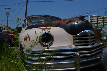 Old Packard by doktornein