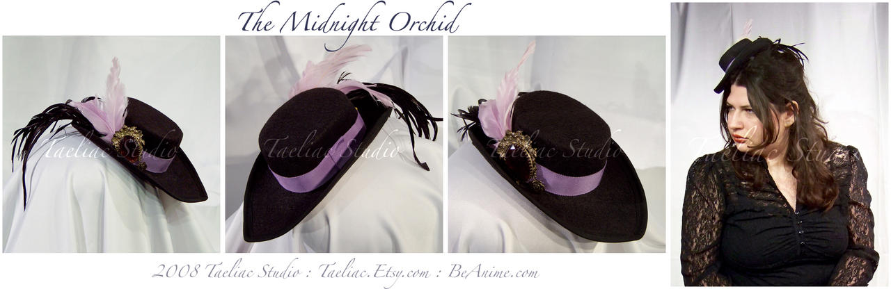 The Night Orchid by taeliac