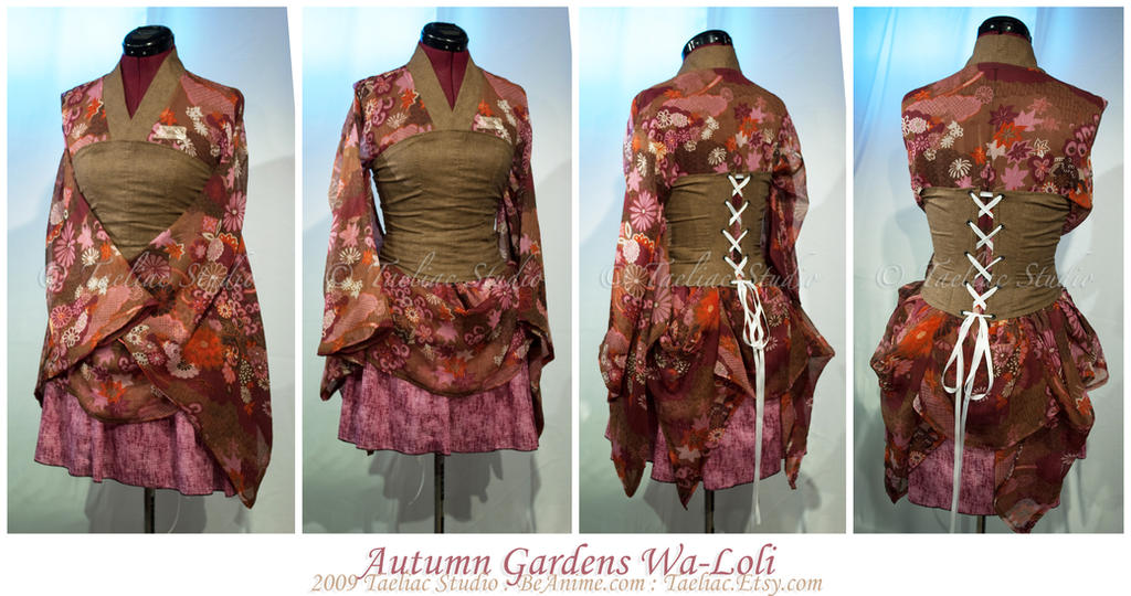 Autumn Gardens Wa-Loli by taeliac