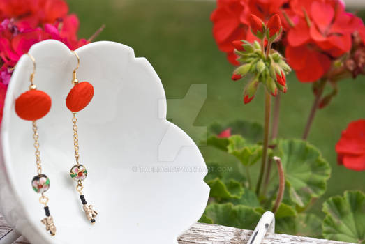 Kimono Jewelry: Earrings : 11
