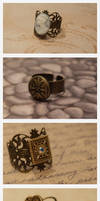 Steampunk Rings : 01