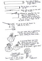 Mini Tutorial: Ruffle Flowers by taeliac
