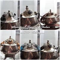 Steampunk Bracelets : 01 by taeliac