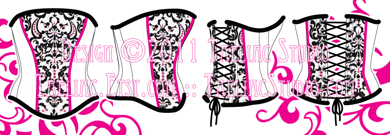 Design: au fait vintage corset by taeliac