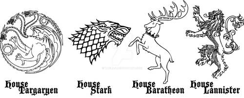 Game of Thrones: House Sigil 1