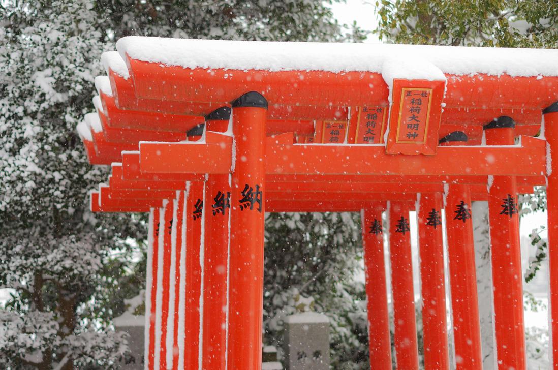 Red Gods Gates by taeliac