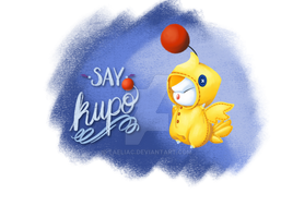 say Kupo! Chocobo