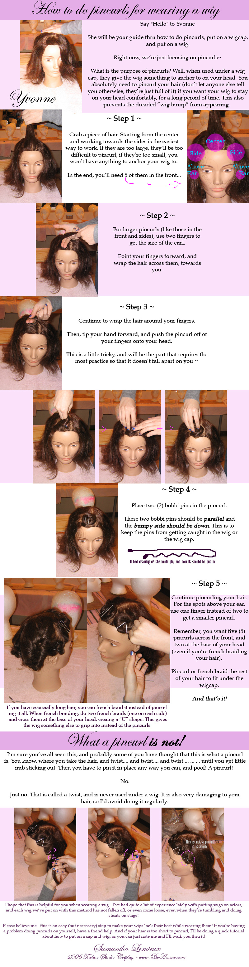 Tutorial: How to do pincurls by taeliac