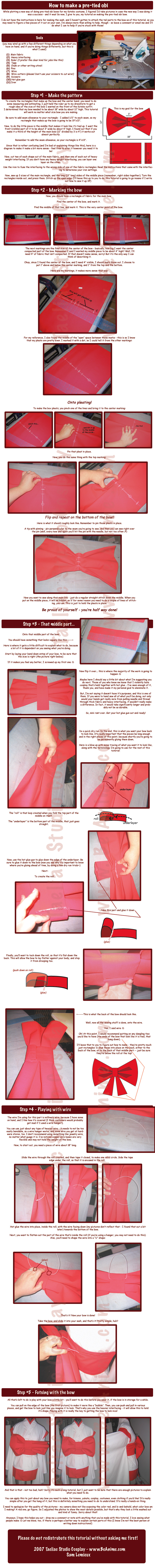 Tutorial: Pre-Tied Obi by taeliac