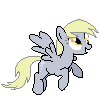 Derpy~ Pixel art by CaptainRainbowz