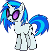 Vinyl Scratch~ Pixel Art by CaptainRainbowz