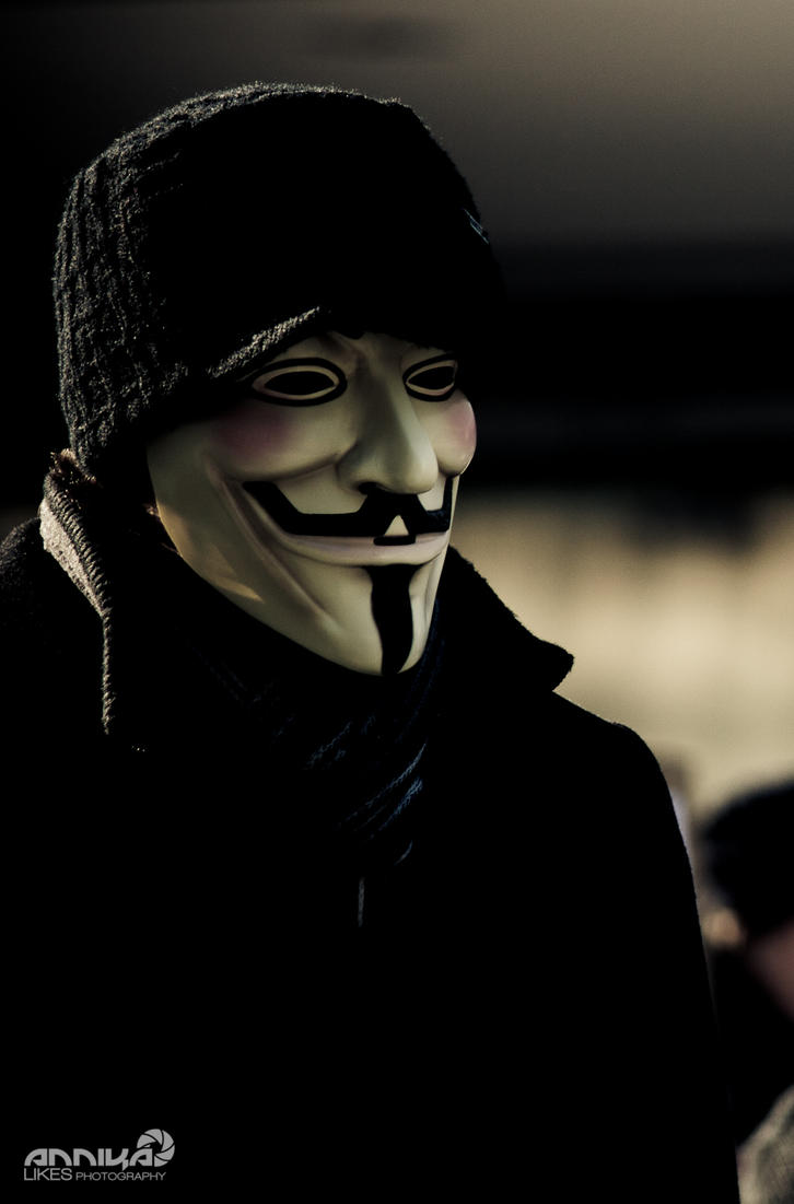 guy fawkes by AnnikaLikes