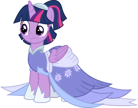 Twilight's coronation gown