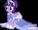 Twilight's coronation gown