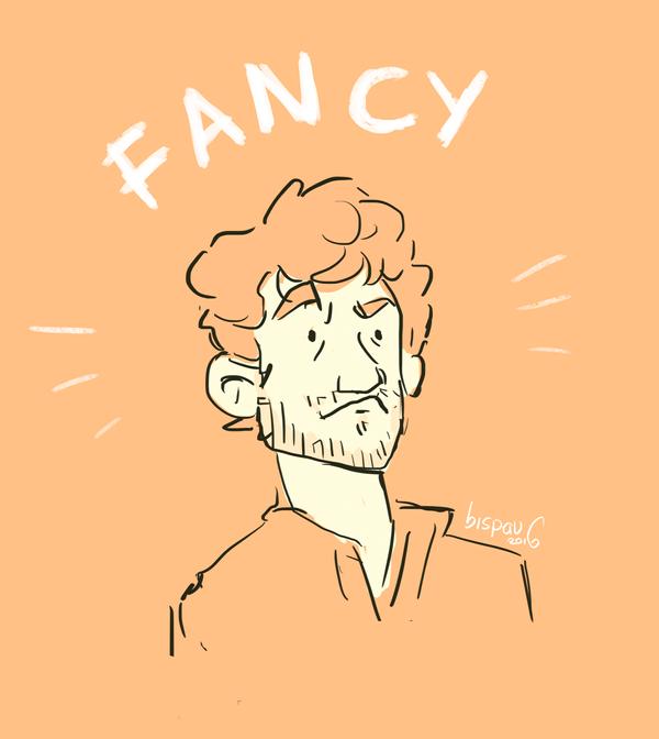 Fancy Hugh Dancy by bispau