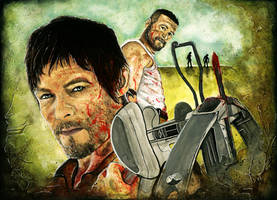 The Dixon Brothers by SanDrawGames