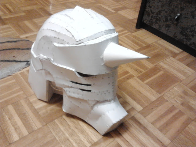 Alphonse helmet pepakura by lorduria