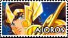 Aioros Stamp by ladamadelasestrellas