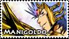 Manigoldo Stamp by ladamadelasestrellas